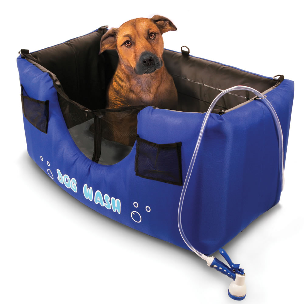 The Portable Pet Water: The Only Inflatable Dog Shower