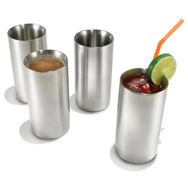 The Cold Maintaining Stainless Steel Drinkware.