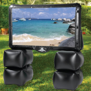 The Outdoor Inflatable Theater.