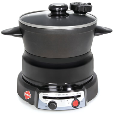 The Self Stirring Electric Pot.
