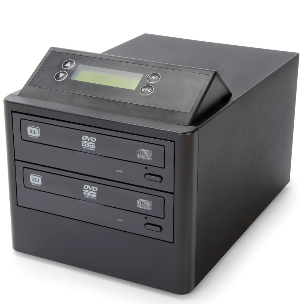 The One Step DVD/CD Duplicator 2
