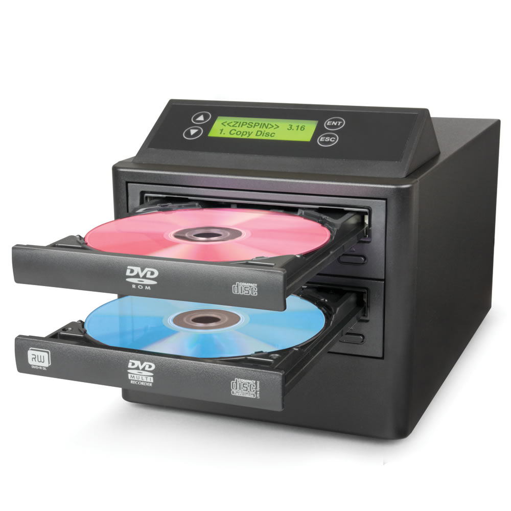 One Touch DVD CD Duplicator