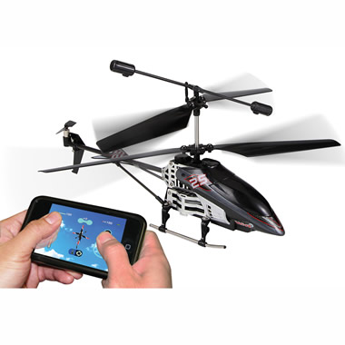 The Smartphone Controlled Helicopter