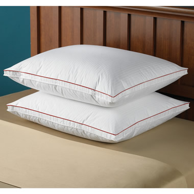 The Temperature Regulating Down Pillow (Medium-Firm Density).