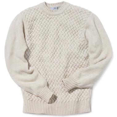 The Irish Basket Weave Sweater.