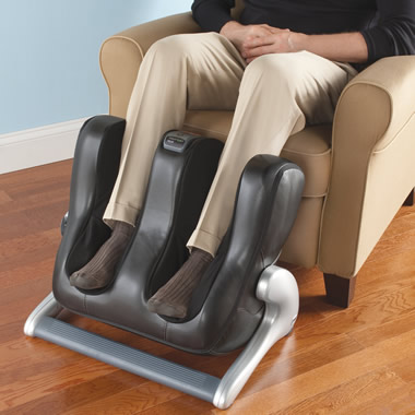 The Circulation Enhancing Lower Leg Massager.