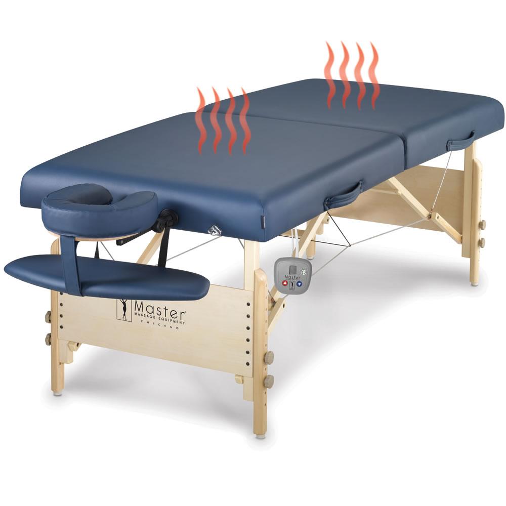 the heated massage table hammacher schlemmer. Black Bedroom Furniture Sets. Home Design Ideas