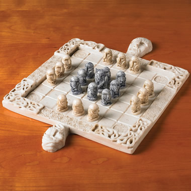 The High King Of Ireland Chess Set.