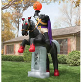 The 12 Ft Inflatable Headless Horseman.
