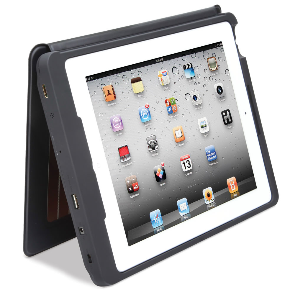 The Solar Charging iPad Case3