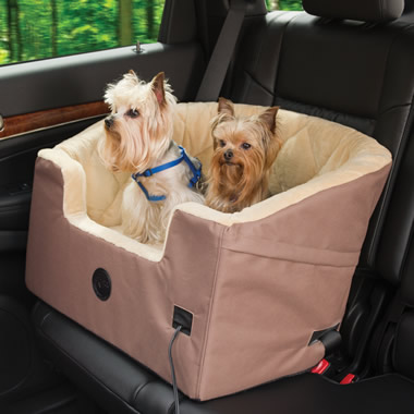 The Heated Pet Car Seat.