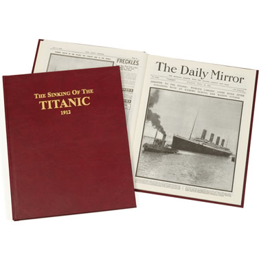 The Original UK Daily Mirror Articles Of The Titanic.