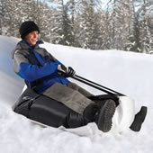 The Bean Bag Sled.