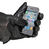 The Touchscreen Compatible Gloves (Men's).