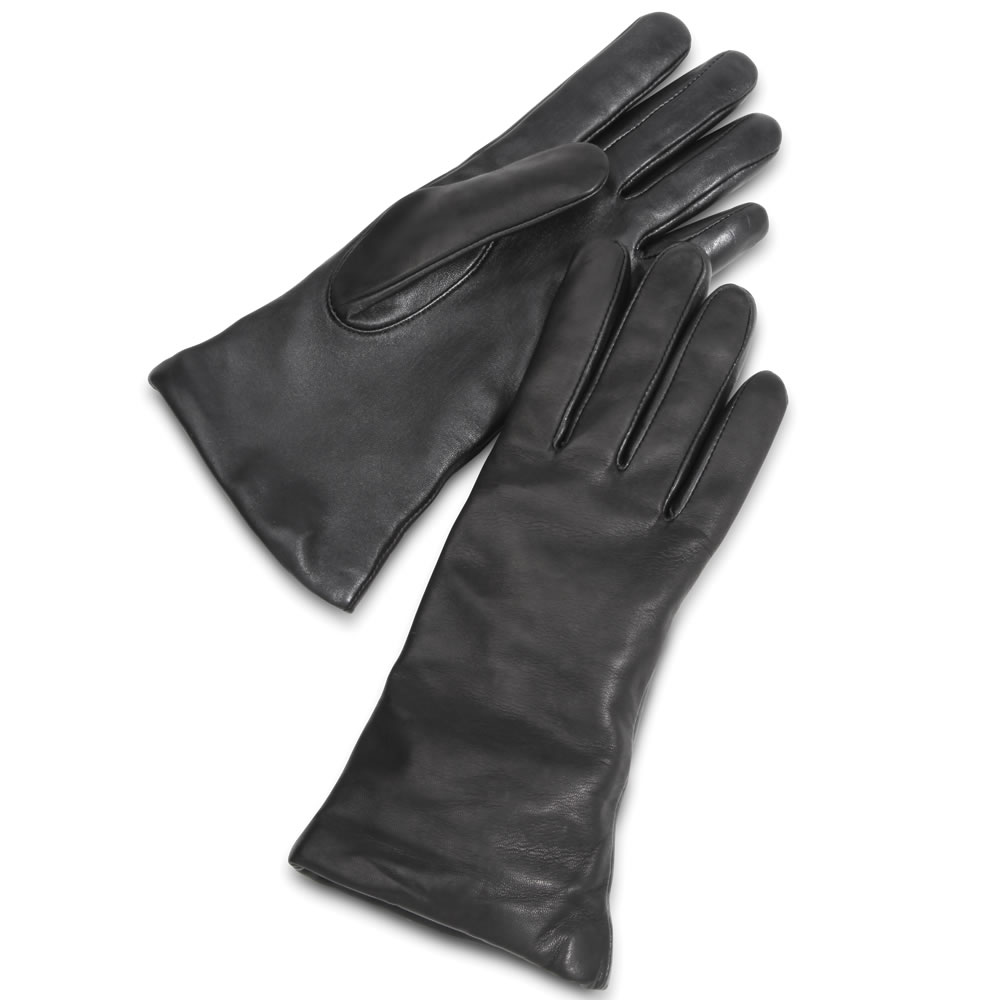 The Touchscreen Leather Gloves (Women's) 2