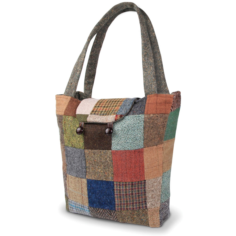 The Genuine Irish Patchwork Tote Bag 1