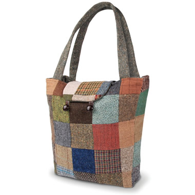 The Genuine Irish Patchwork Tote Bag.