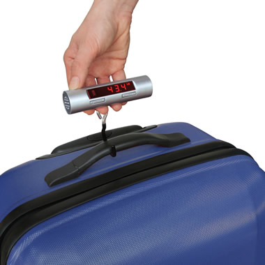 The Talking Luggage Scale.