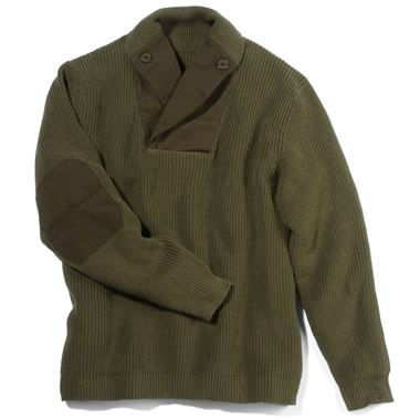 The WWII Mechanic's Sweater.