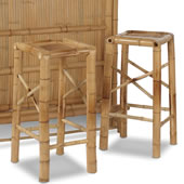 Additional Bamboo Bar Stools.