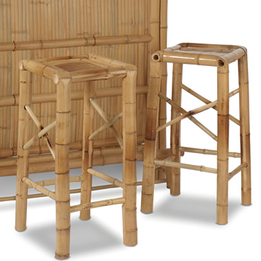 Additional Bamboo Bar Stools