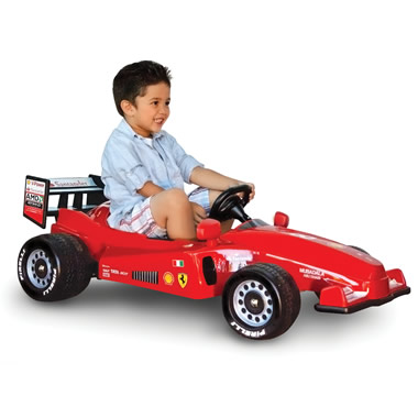 The Ride On Formula One Ferrari.