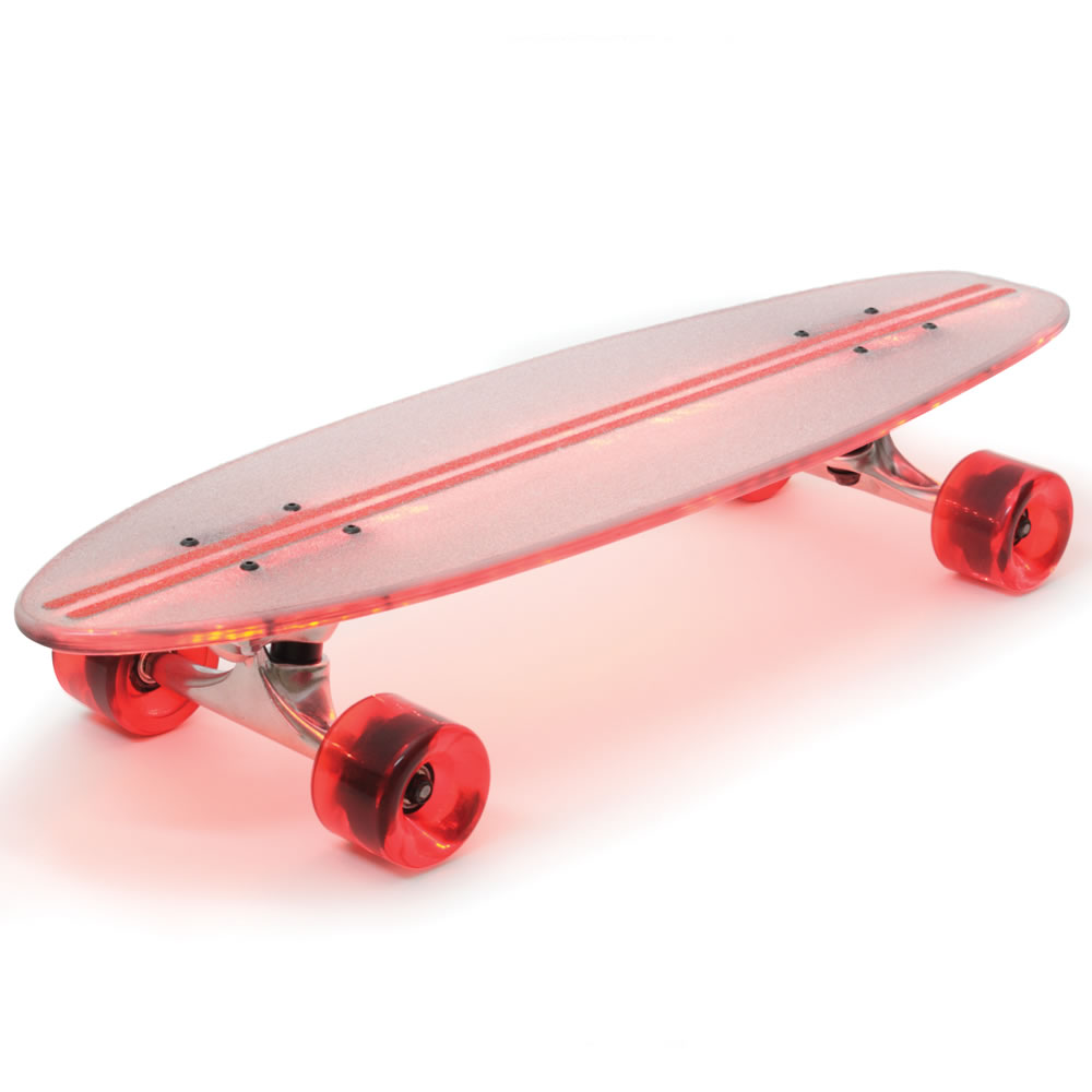 The Illuminated Flexible Skateboard 2