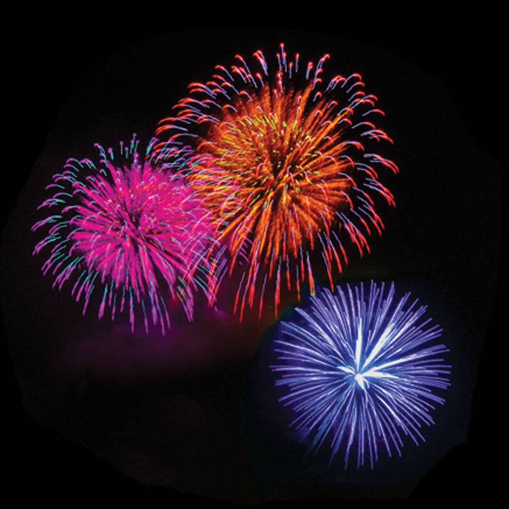 The Handheld Fireworks Light Show Projector 2