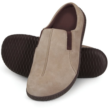 The Gentleman's Indoor/Outdoor Plantar Fasciitis Slippers.