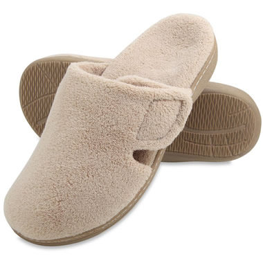 The Lady's Plantar Fasciitis Mule Slippers.