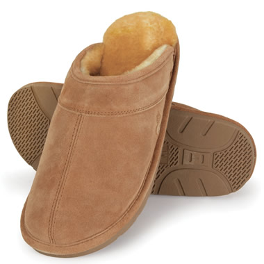 The Genuine Australian Sheepskin Scuffs (Men's).