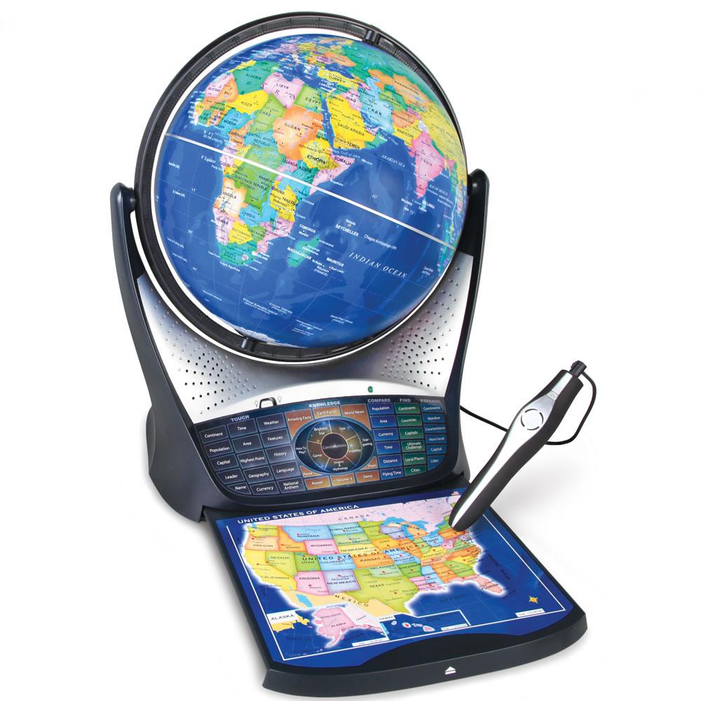 The Heavens And Earth Educating Globe2