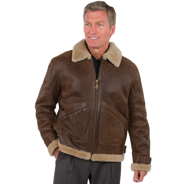 The Patton Shearling Jacket.