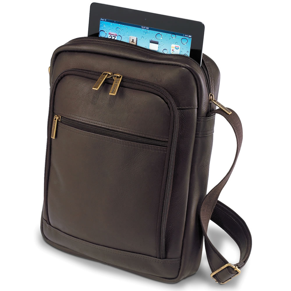 Leather iPad Satchel