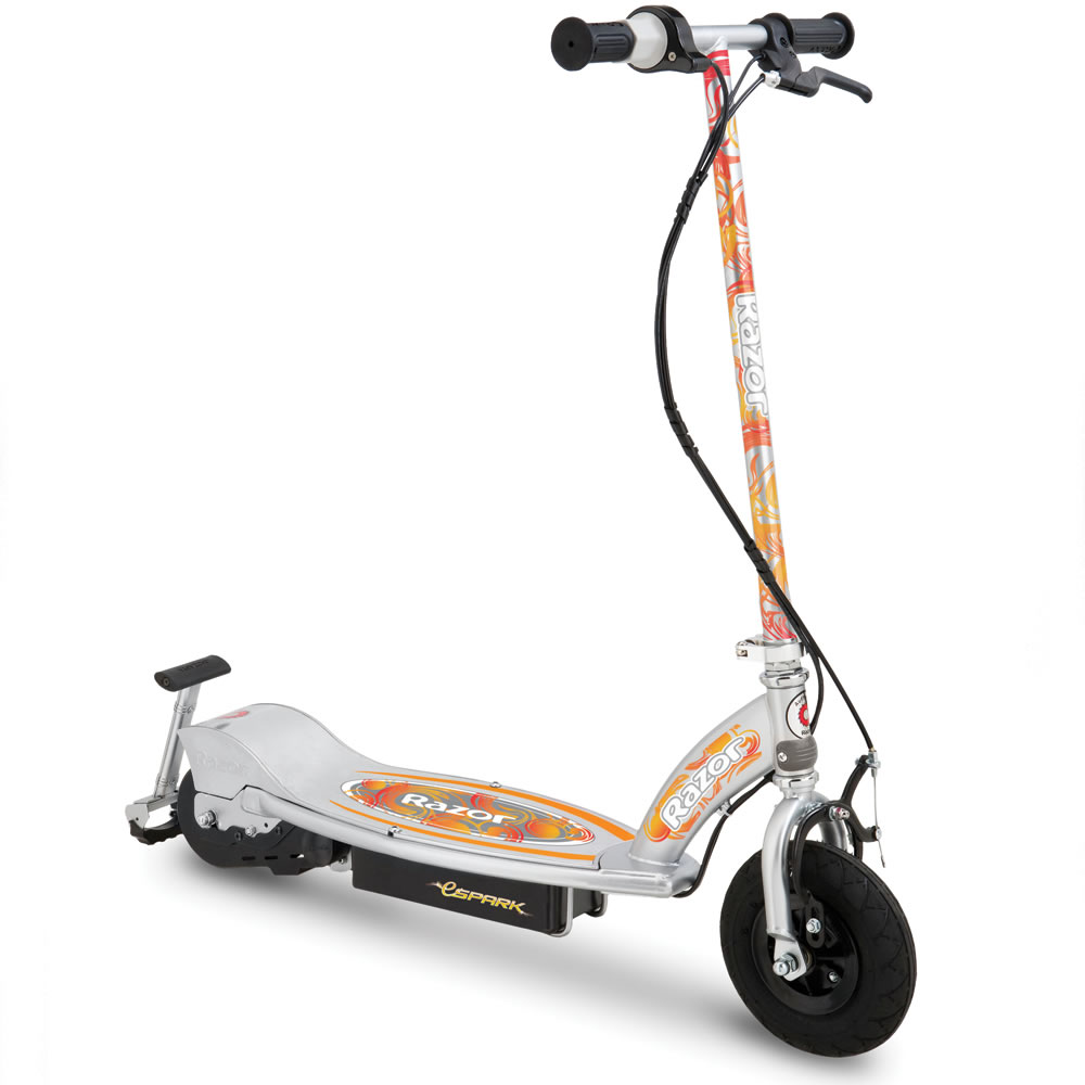 The Spark Emitting Electric Scooter 2