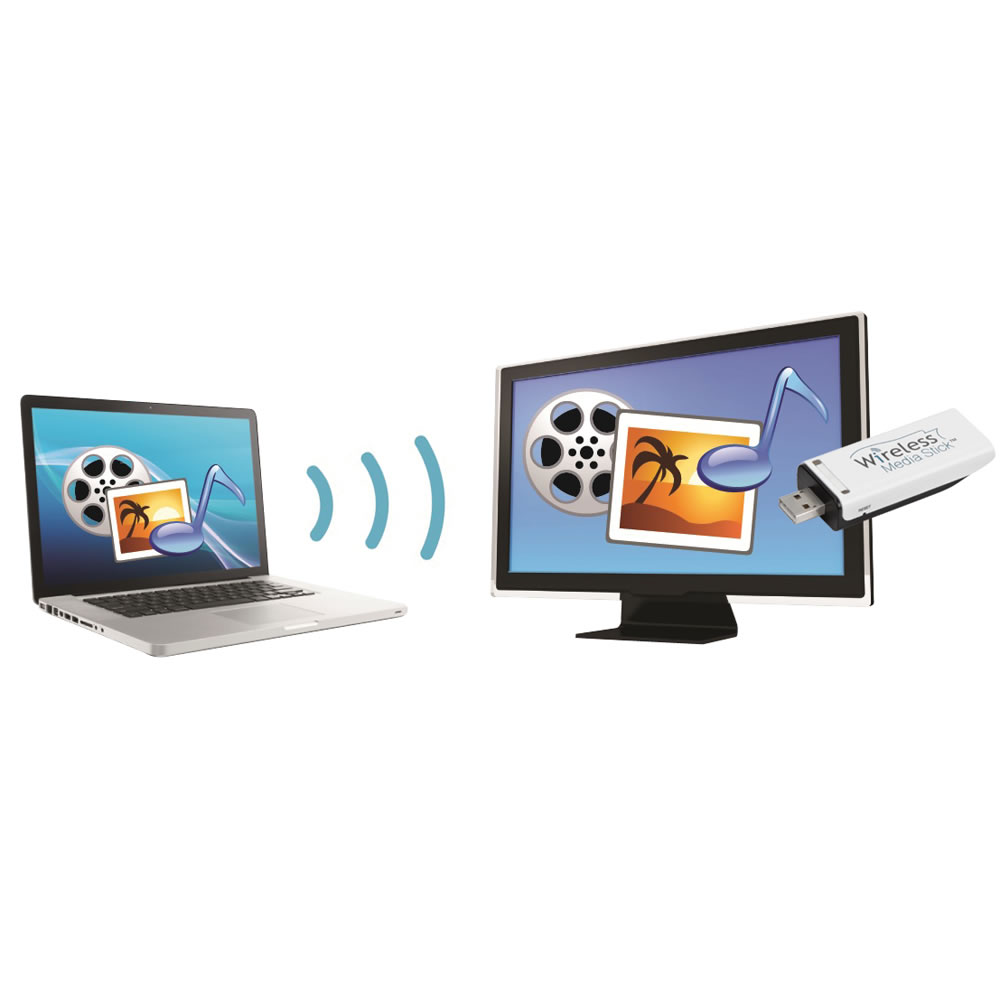 The Wireless PC To TV Media Streamer 2