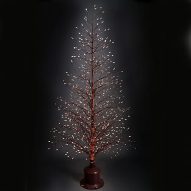 The Color Changing Twinkling Light Tree