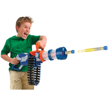 The Foam Dart Rotary Cannon