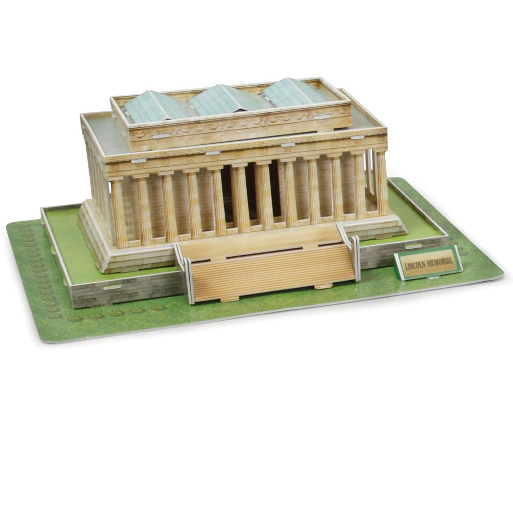 The 3D Washington D C  Landmark Building Set 2