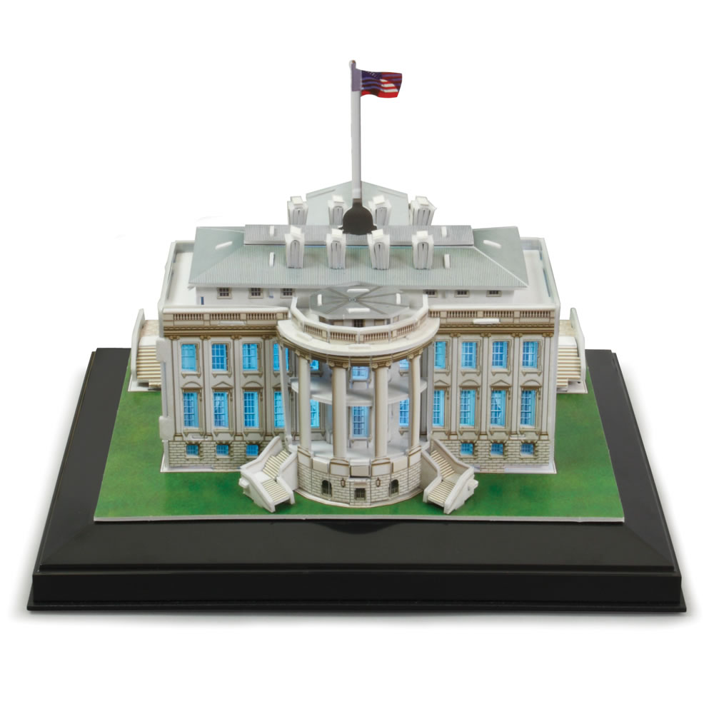 The 3D Washington D C  Landmark Building Set 3