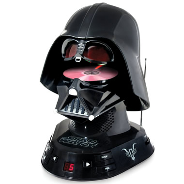 The Darth Vader CD Player.