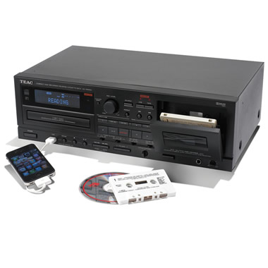 The Only Audio Restoring Cassette To CD Converter.