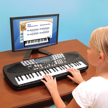 The Children's Learn To Play Keyboard.