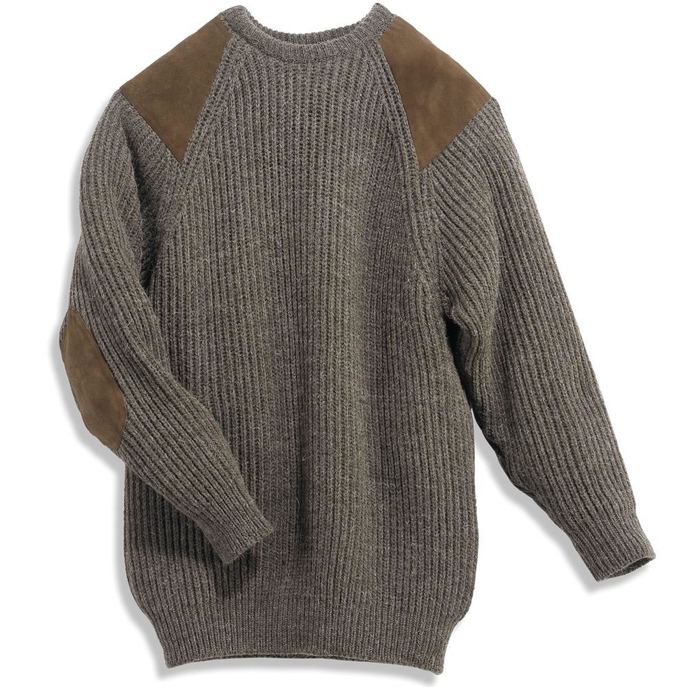 The Black Sheep Wrap Sweater is knit with all-natural wool from actual black sheep. Imagine that!