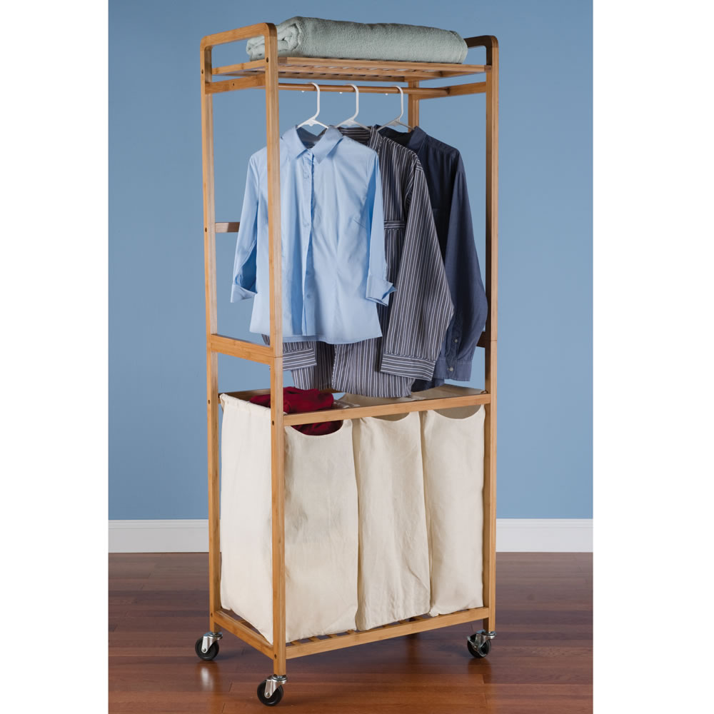 The Laundry Room Valet - Hammacher Schlemmer