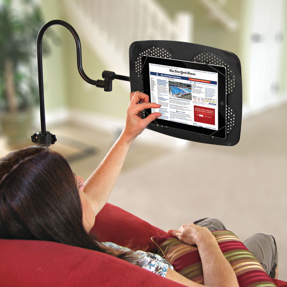 Adjustable iPad Floor Stand