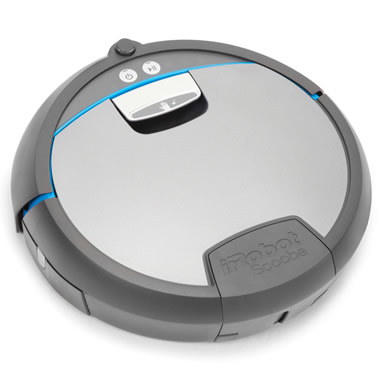 The Robotic Floor Washing Scooba 390.