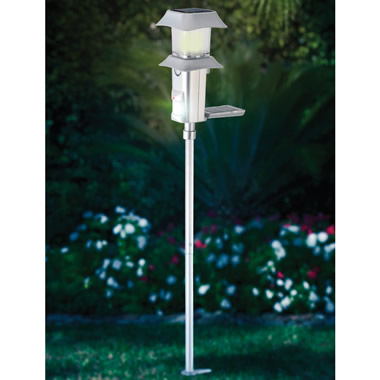 The Solar Powered Garden Sentry