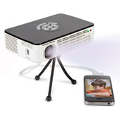 The Brightest Image Rechargeable Projector.