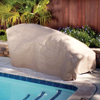 The Water And Mildew Repelling Furniture Covers.